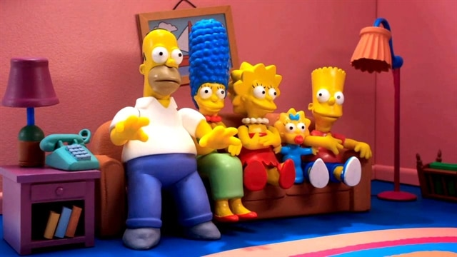 Simpsons: Robot Chicken Couch Gag