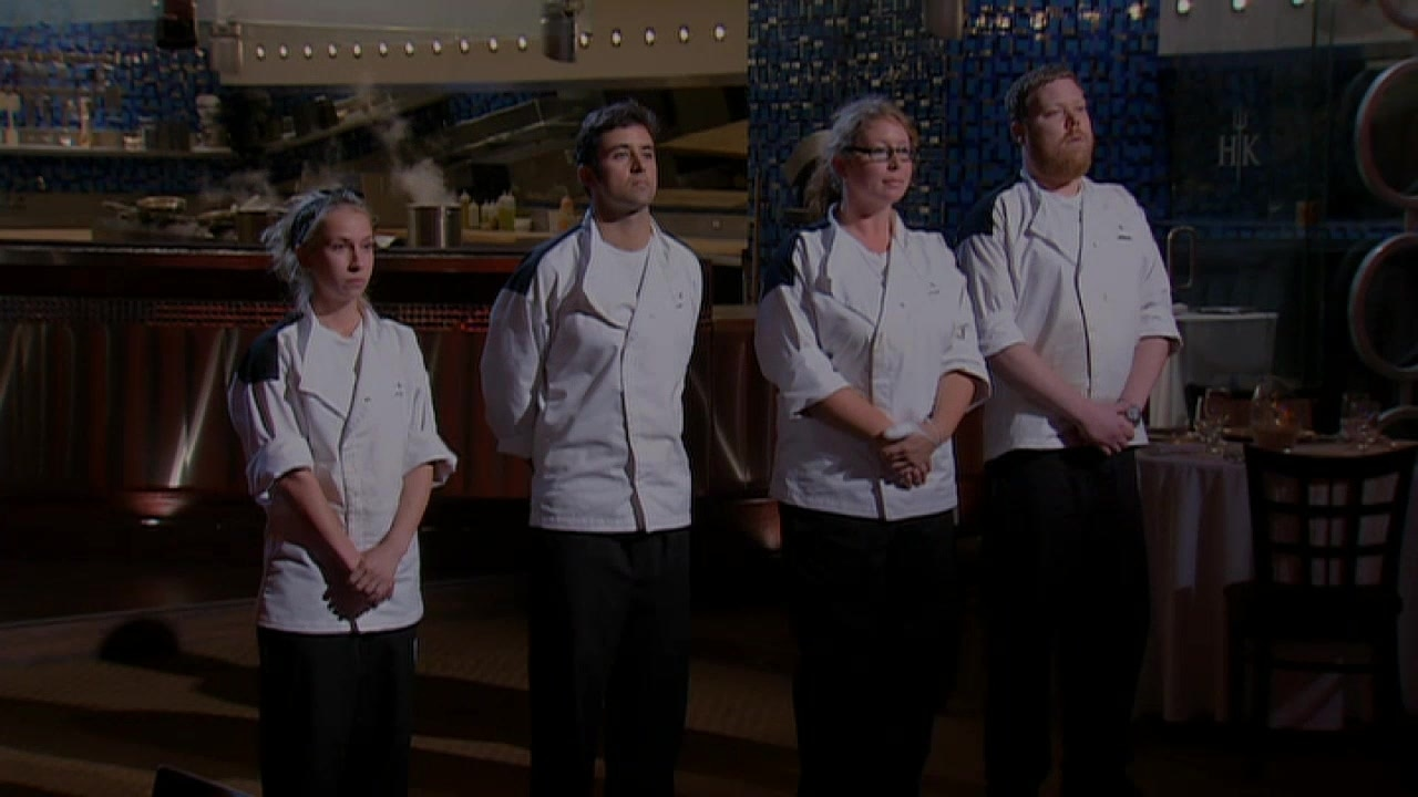 The top four finalists take control of the kitchen.
