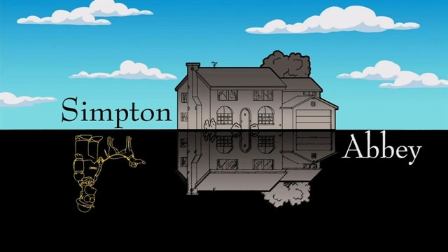 Simpsons: Simpton Abbey Gag