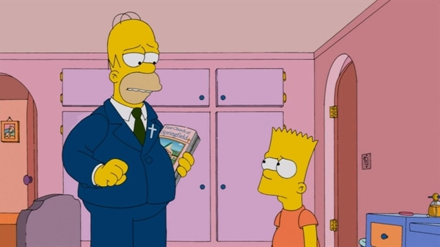 The Simpsons | Pulpit Friction