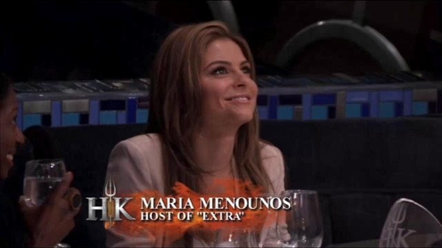Hell's Kitchen: Special Diner: Maria Menounos