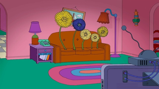 Simpsons: Winning Couch Gag