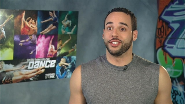Aaron is grateful to have the opportunity to be in a Top 20 with three tap dancers, including himself, especially considering there weren't any in Season 9.