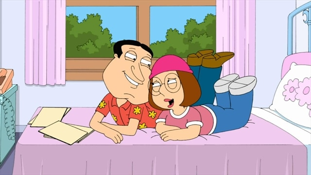 Гриффины (FAMILY GUY) 10x10 Quagmire and Meg - КУАГМИР И МЕГ.