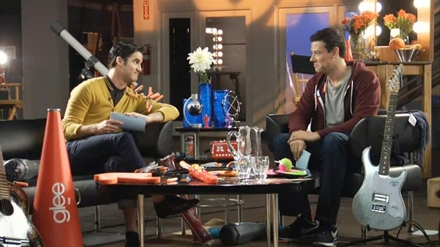 Glee: Fox Lounge: Darren & Cory: Rapid Fire