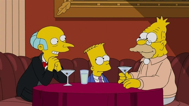 The Simpsons | Gorgeous Grampa