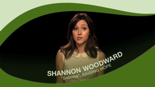 Green Tip: Shannon Woodward