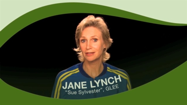 Green Tip: Jane Lynch