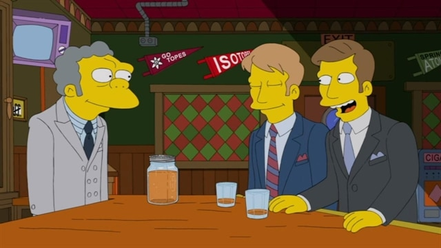 The Simpsons | Whiskey Business