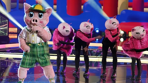 The Masked Singer S6 E7 Super 8 - The Plot Chickens! 2021-04-22