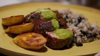 cooking demo: cuban pork dish tile image