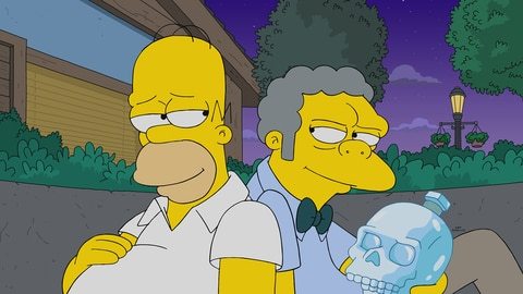 The Simpsons S32 E22 The Last Barfighter 2021-05-24
