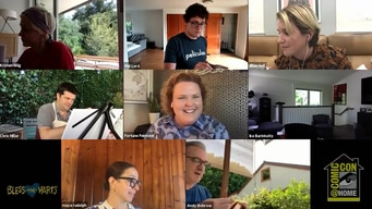 comic-con 2020 @ home: giggling girlfriends tile image