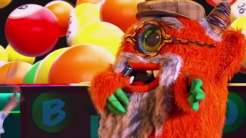"The Masked Singer S5 Grandpa Monster Performs ""Mambo No. 5"" By Lou Bega 2021-03-16"