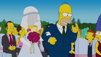 homer walks the bride down the aisle tile image