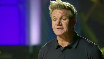 gordon ramsay demonstrates how to break down a chicken tile image