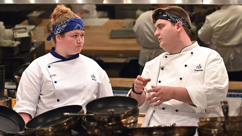 Hell's Kitchen S20 E16 Two Young Guns Shoot It Out 2021-09-14