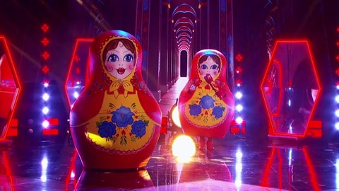 "The Masked Singer S5 The Russian Dolls Perform ""Man In The Mirror"" by Michael Jackson 2021-03-10"