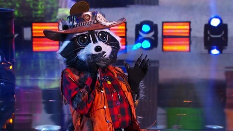 """The Masked Singer S5 Raccoon Performs """"Wild Thing"""" By The Troggs 2021-03-10"""