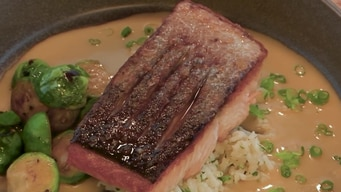 cooking demo: salmon dish tile image