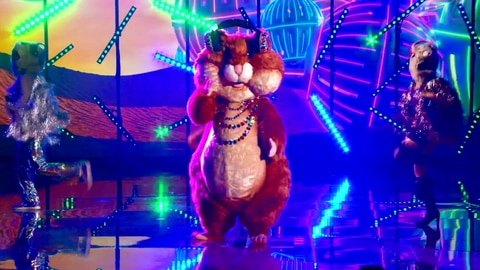 """The Masked Singer S6 Hamster Performs """"Crazy Little Thing Called Love"""" By Queen 2021-10-05"""