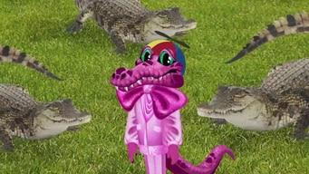 the clues: crocodile tile image