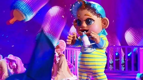"""The Masked Singer S6 Baby Performs """" My First My Last My Everything"""" By Warner Chappell 2021-09-23"""