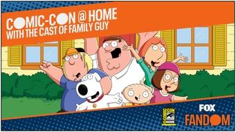 family guy comic-con 2020 @ home panel tile image