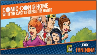 bless the harts comic-con 2020 @ home panel tile image