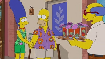 the simpsons arrive in paradise tile image