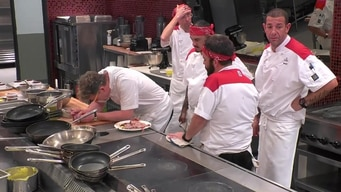 the red team under cooks the veal dinners tile image