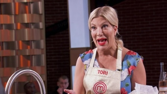 tori spelling tells gordon about their dish tile image