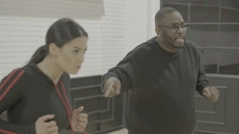luther brown works with nazz sldryan on her routine tile image