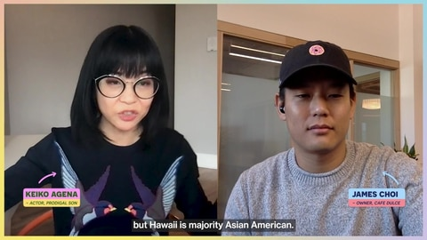 Prodigal Son S2 Being Asian in America in 2021 with Keiko Agena & James Choi 2021-04-15