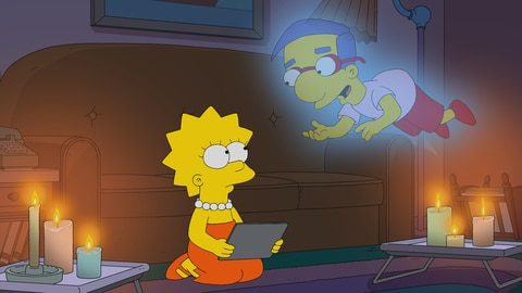 The Simpsons S33 E3 Treehouse of Horror XXXII 2021-10-11