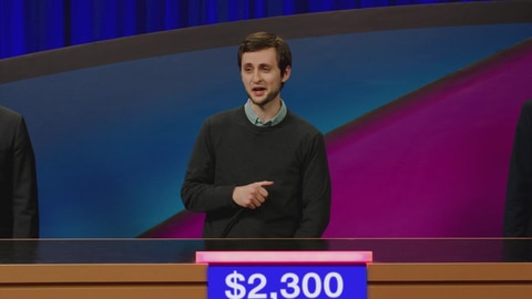 Let's Be Real S1 Jeopardy Continues To Have Guest Hosts 2021-05-06