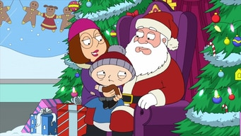 stewie is afraid of the mall santa tile image