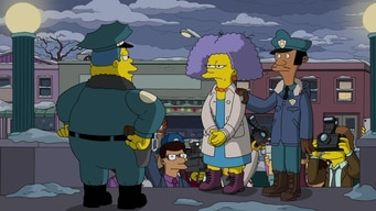 the cops arrest selma bouvier tile image