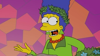 marvelous marge simpson tile image