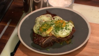 cooking demo: steak n' eggs tile image