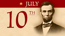 July 10: Lincoln's Chicago speech