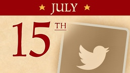 July 15: Twitter Launches