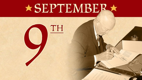 September 9: Eisenhower Signs Civil Rights Act