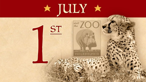 July 1: First US Zoo