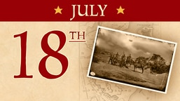 July 18: Second Battle of Fort Wagner