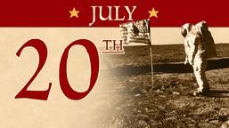 July 20: 1969 Moon Landing