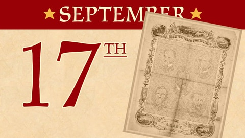 September 17: The Signing of the United States Constitution