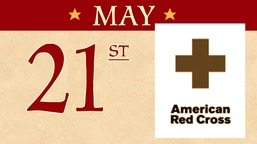 May 21: American Red Cross