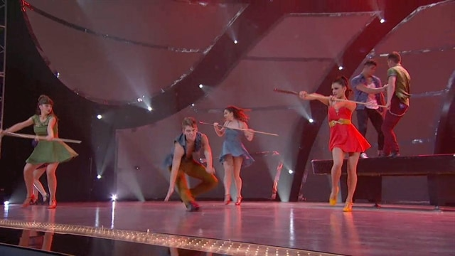 Malece, Makenzie, Jenna, Hayley, Alan, Nico & Spencer: Top 14 Perform